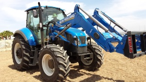 New Holland con pala original
