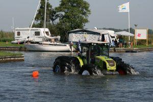 Navegando por el puerto holandés