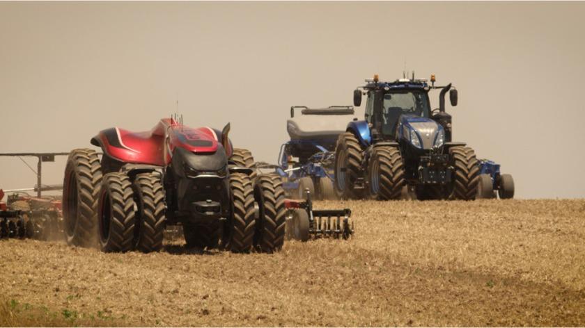 CNH tractores autónomos